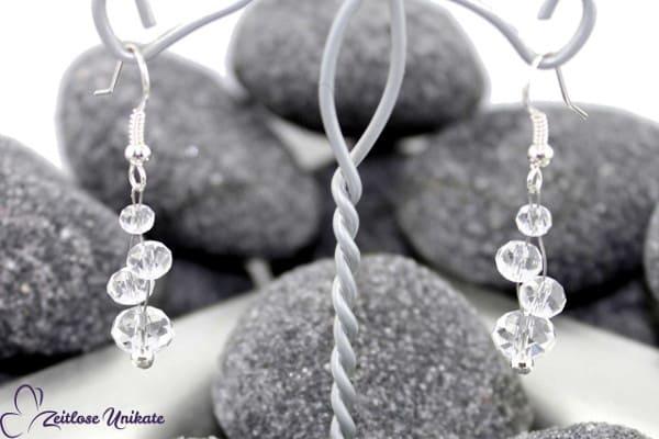 Shining, lange Ohrringe passend zu jeder Braut und Brautkleidfarbe