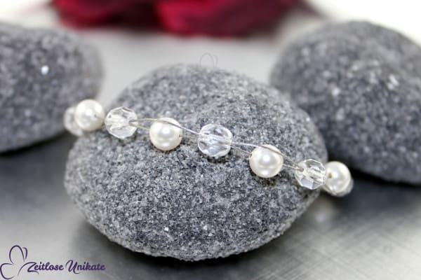 Brautschmuck - Die Schlichte, dezentes Armband für eine schlichte natürliche Braut
