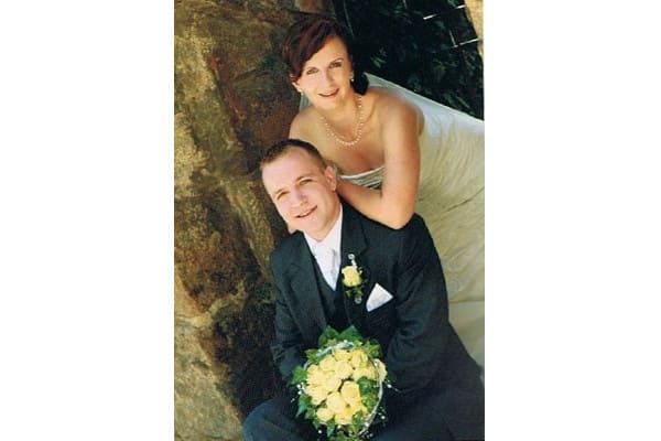 Brautschmuck - schlichte Blumenbraut, ein bißchen Funkeln ... - Variante Madlen (Corsagenbrautkleid)