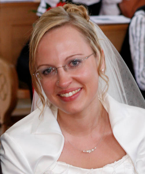 schlichte Kette zum Brautkleid Bolero