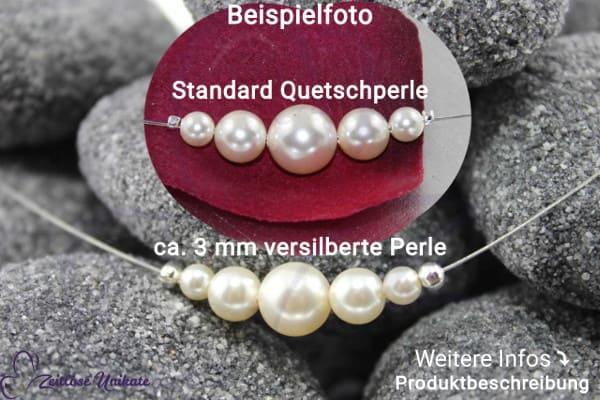 * Was ist ~ eine ca. 3 mm versilberte Quetsch-perle-